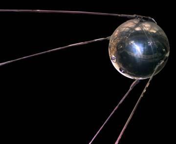 El 'Sputnik 1', el primer satélite artificial.