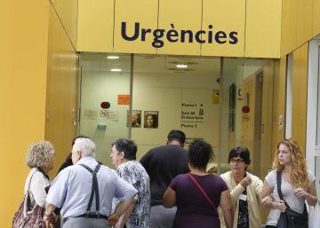 Urgencias del hospital de Sabadell durante un brote de legionela en 2014.