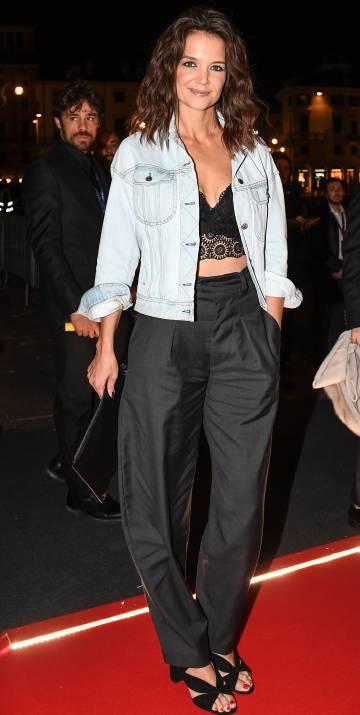 La actriz Katie Holmes, en un evento en Verona el pasado octubre.