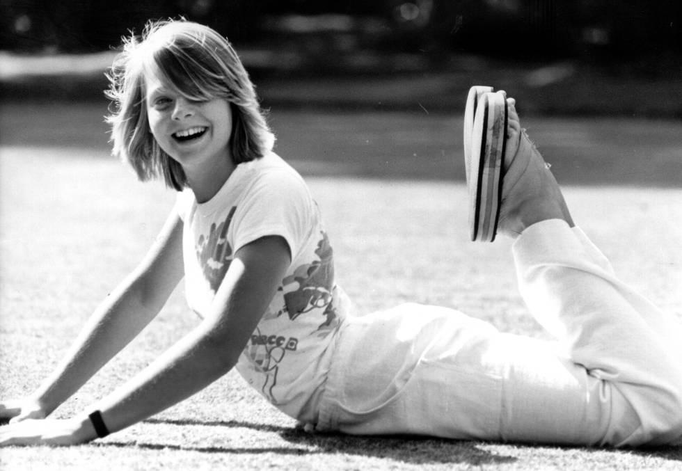 La actriz Jodie Foster, en una imagen de la década de los setenta.