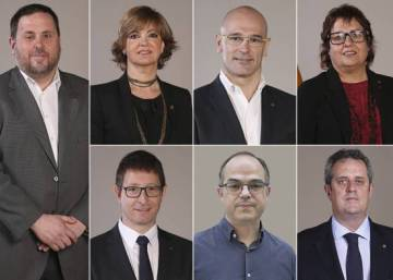 Judge sends eight former members of Catalan government into custody