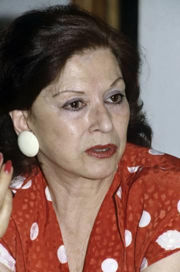 La trapecista María Cristina del Pino Segura, conocida como Pinito del Oro.