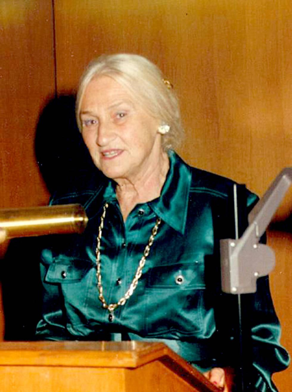 Marianne Grunberg-Manago, en una imagen de archivo.