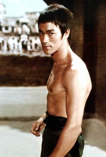 Bruce Lee en la película 'El furor del dragón' (1972).