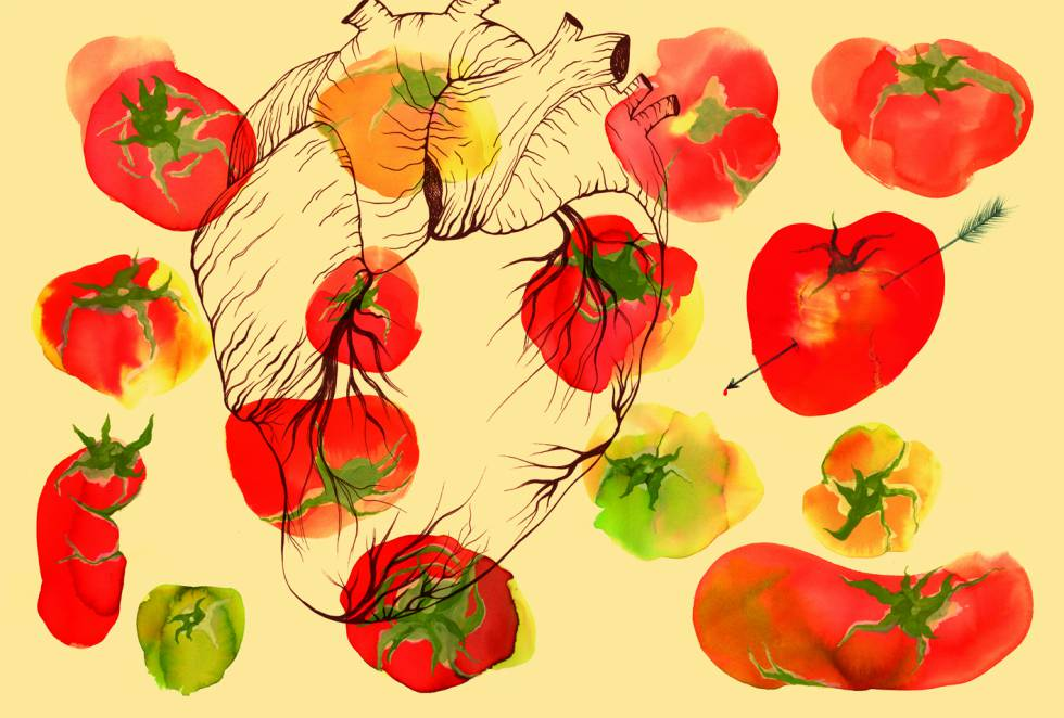 Portada del libro 'Los tomates de verdad son feos'