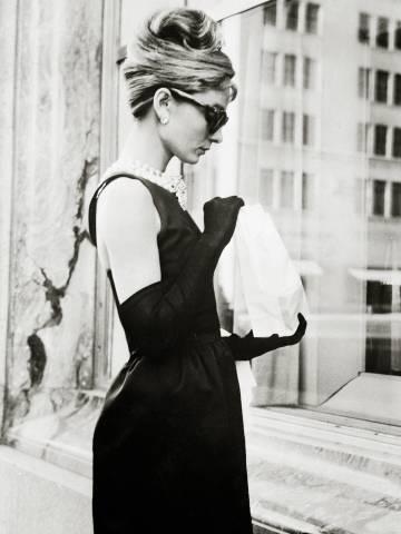 Audrey Hepburn en una escena de la película 'Desayunos con diamantes'.
