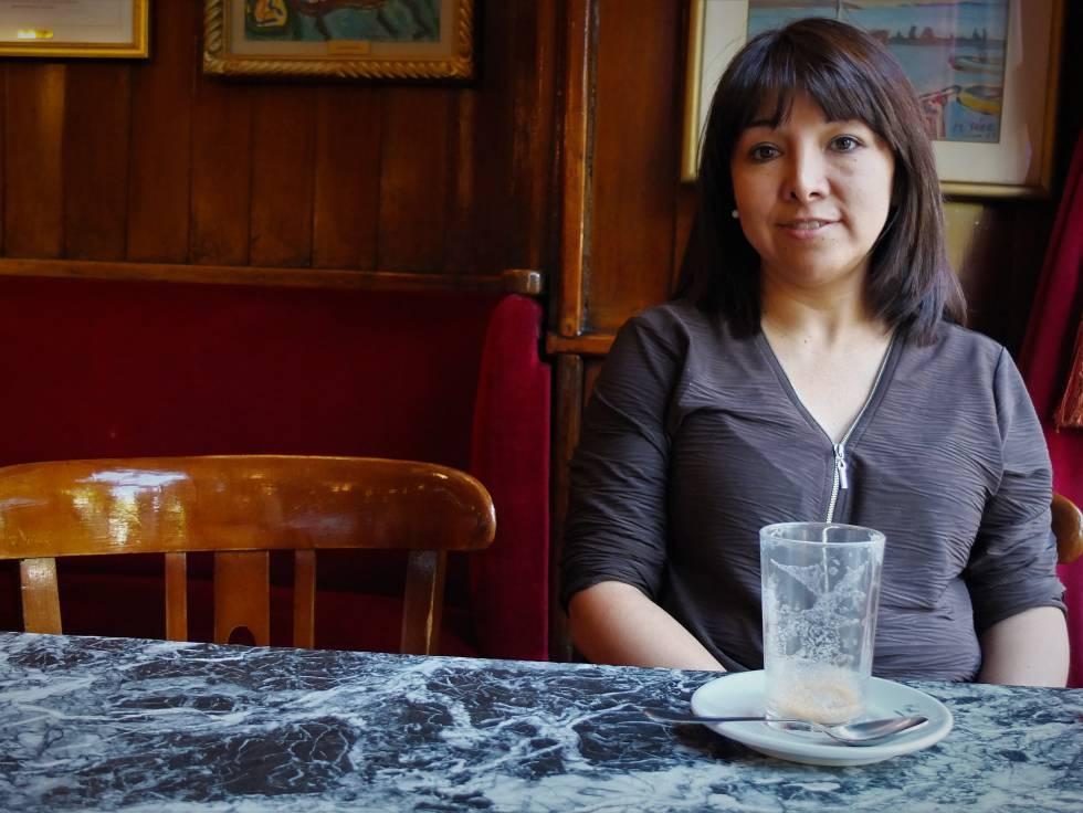 La abogada peruana Mirtha Vásquez, defensora de activistas medioambientales, durante la entrevista en Madrid.