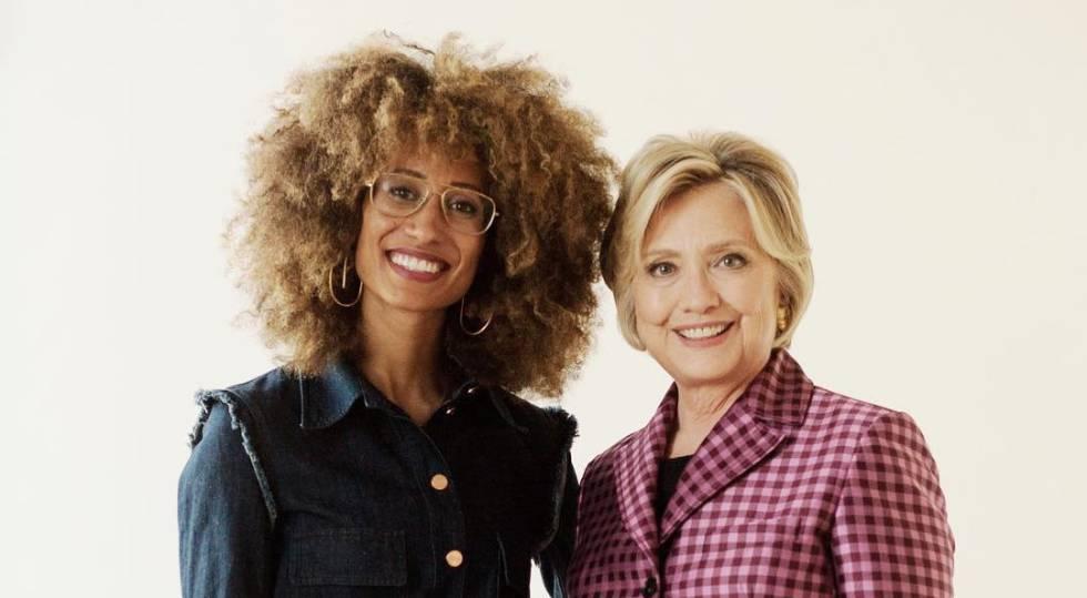8adc8bd1ef La revista rebelde de Condé Nast se despide con Hillary Clinton ...