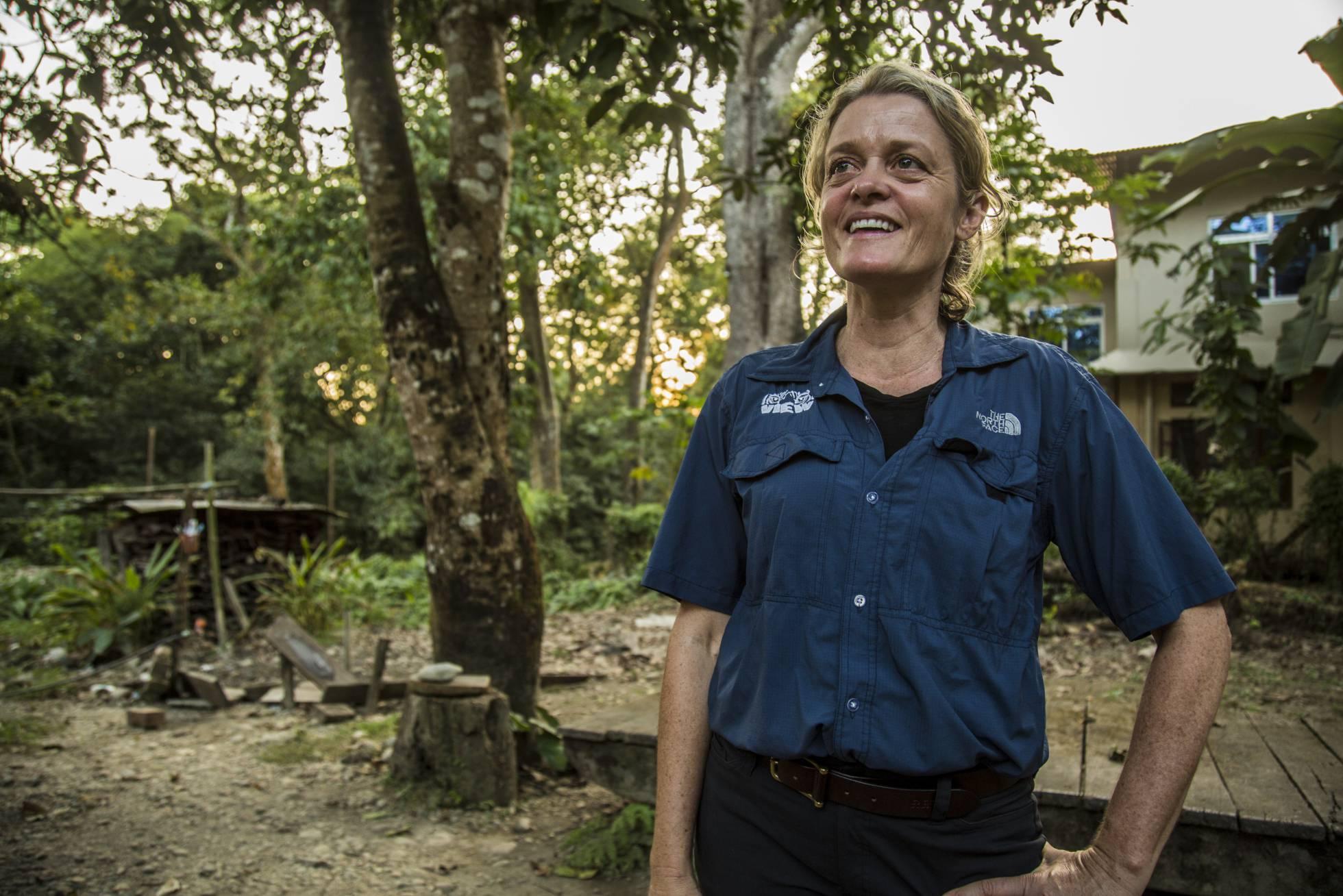 La veterinaria Deborah McCauley, fundadora de VIEW.