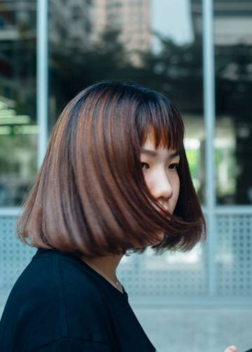 Una empleada de Tencent, creadora de WeChat y una de las mayores empresas de Internet del mundo, fundada en Shenzhen.