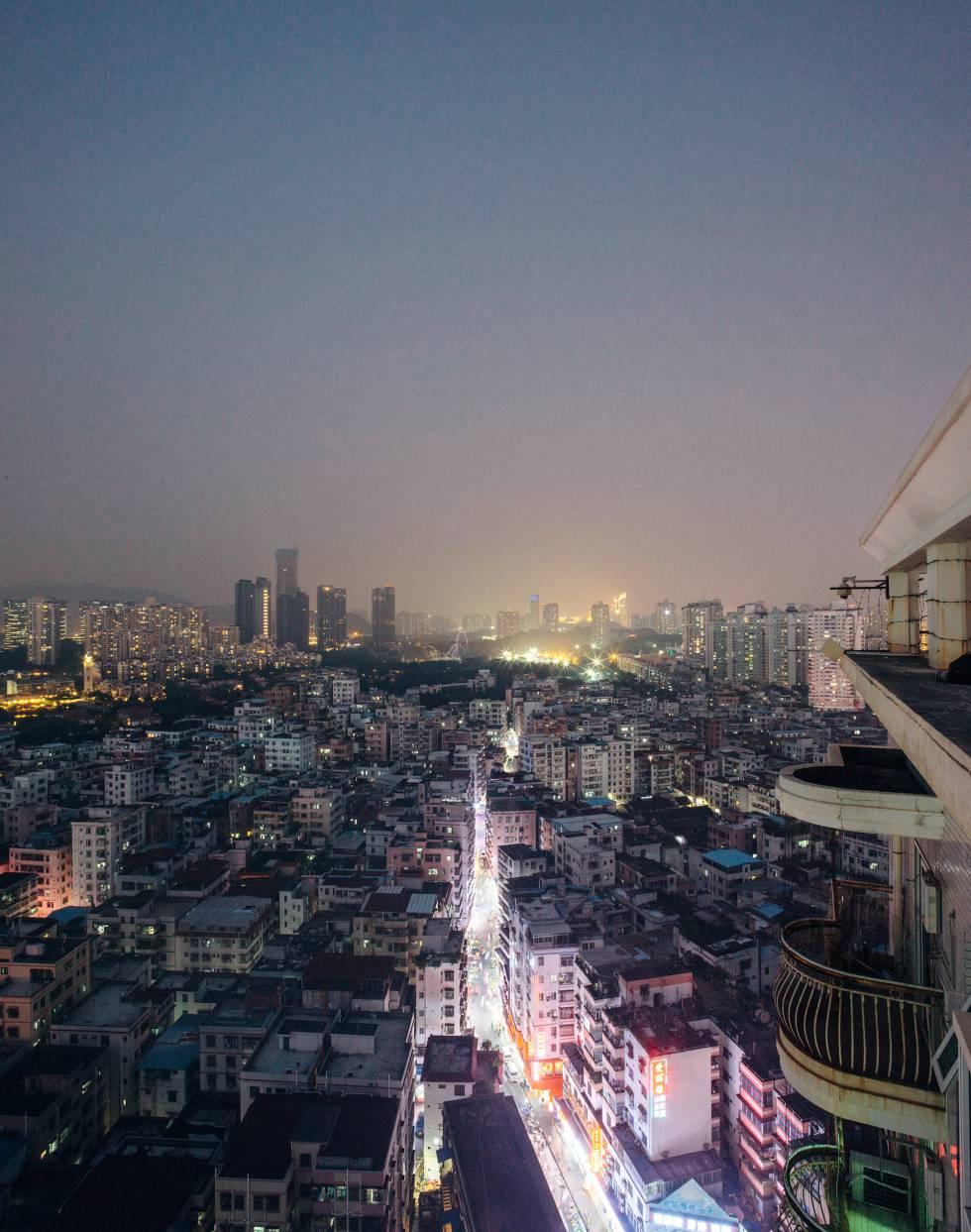 El barrio de Baishizhou.