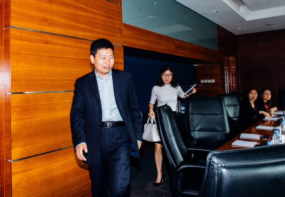 Yu Chengdong, CEO de Huawei.
