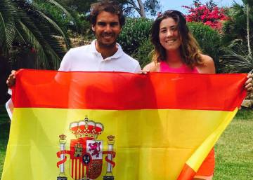 Spain's Garbiñe Muguruza joins Rafa Nadal at the top of world tennis