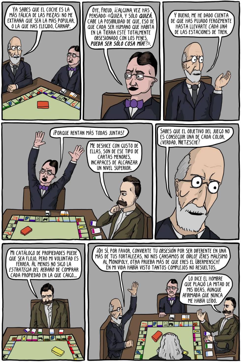 La filosofía explicada por Teminator: llega el cómic que arrasa en Internet