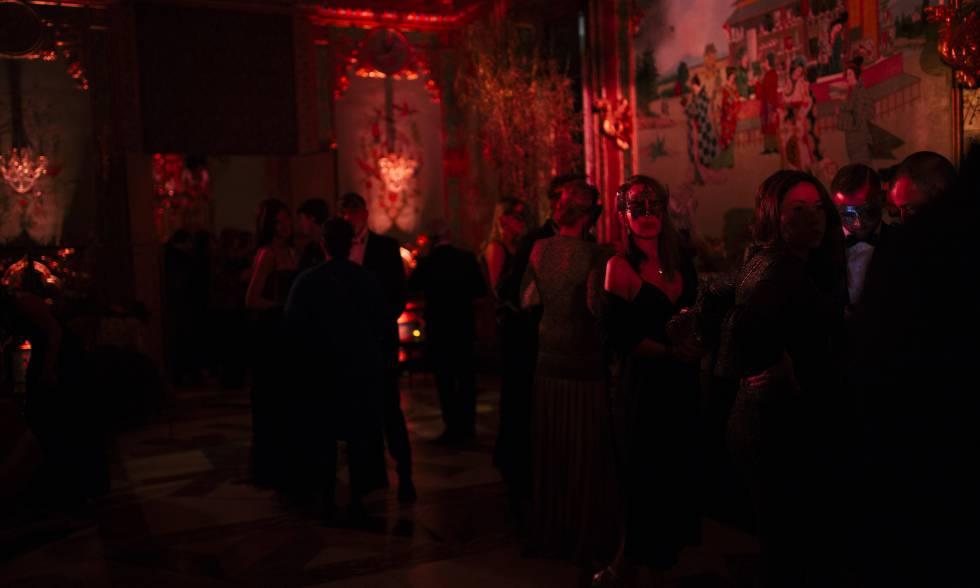 El Dior Bla, celebrado el miércoles en el Palacio de los Duques de Santoña en Madrid.