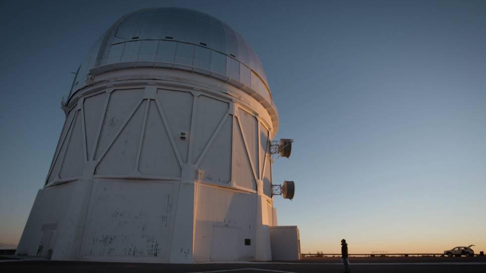 El telescopio Blanco, en el Observatorio Interamericano del Cerro Tololo (Chile).