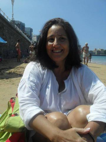 Eva María García Figueras en una imagen de su página de Facebook.