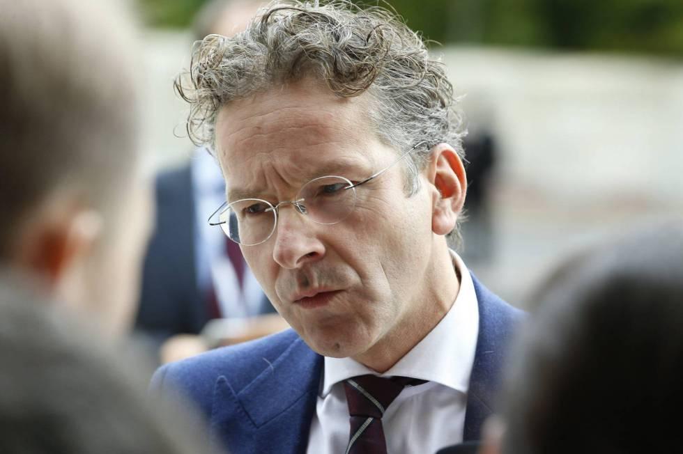 Current Eurogroup chief Jeroen Dijsselbloem.
