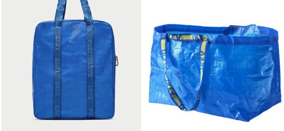 La IkeaEstilo País Famosa Bolsa El También Zara De Reversiona Azul dWrxCeBo