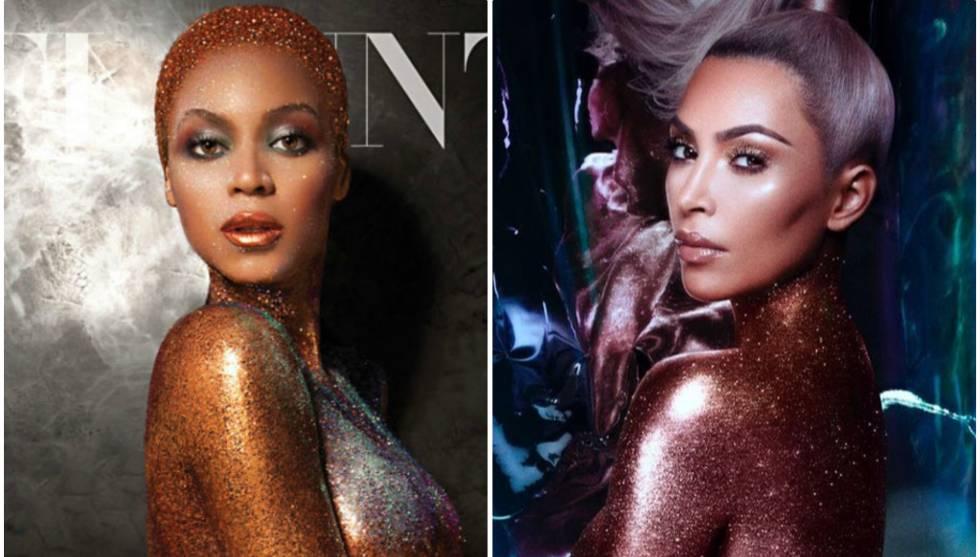 Kim Kardashian Acusada De Plagiar A Beyoncé Con Su último Desnudo