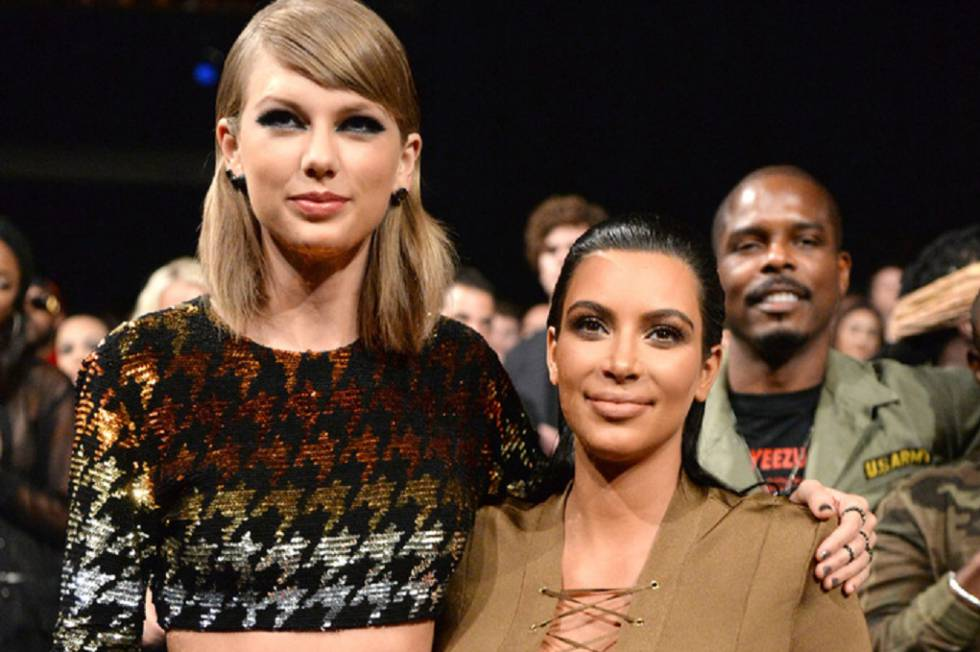 Se Reaviva La Batalla Entre Kim Kardashian Y Taylor Swift Gente Y