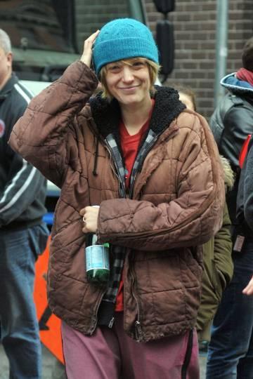 Blake Lively, el pasado 6 de noviembre en el rodaje de'The Rhythm Section' en Dublín.