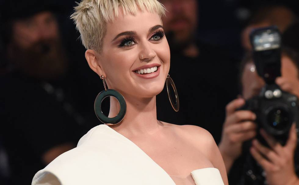 Katy Perry, en los MTV Video Music Awards 2017.
