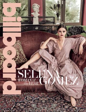 Selena Gomez en la portada de la revista 'Billboard', la última imagen que la cantante ha compartido en su Instagram.