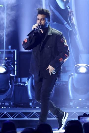 El rapero The Weeknd actuando en Las Vegas en septiembre.