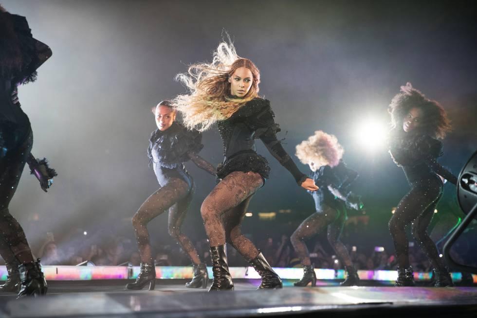 Beyonce durante un show de su gira 'Formation World Tour' en junio de 2016.