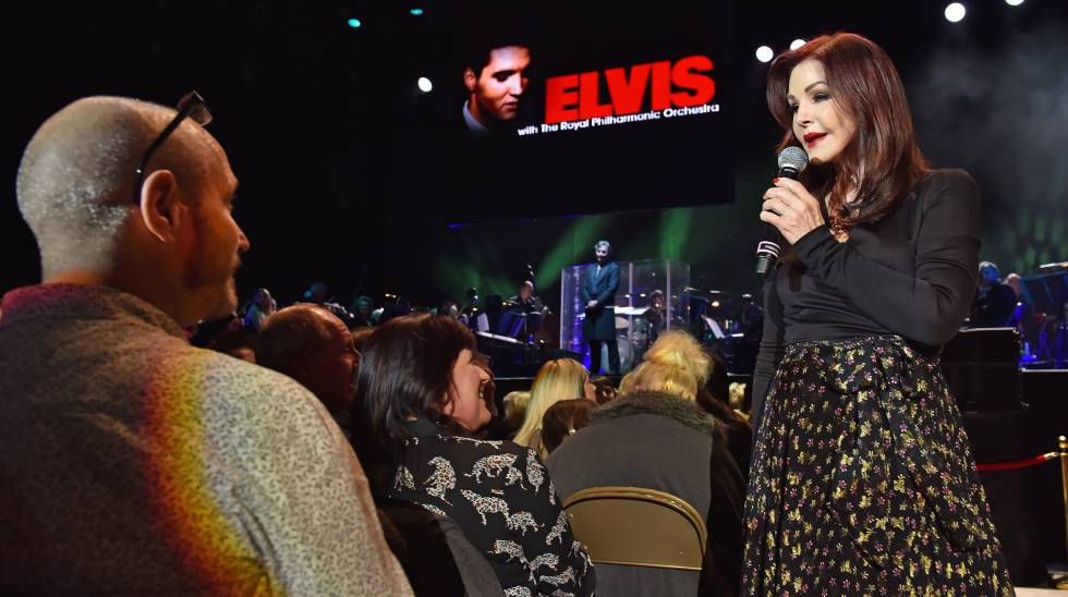 Priscilla Presley, en un momento del nuevo espectáculo ' The Wonder of You'.