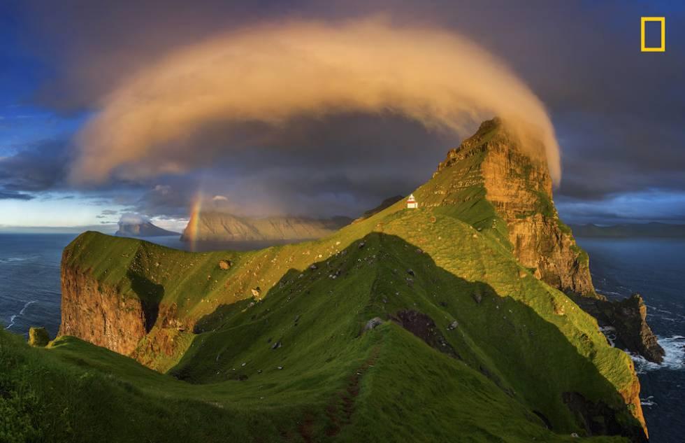 Arcoiris en las Islas Feroe.