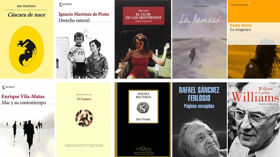 Los 20 mejores libros de 2017, según Babelia (II)