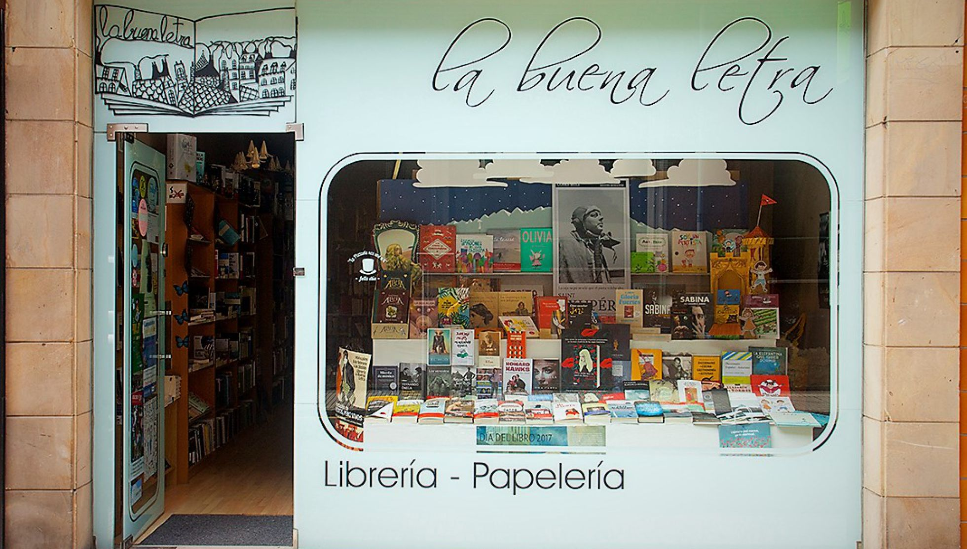 Declarações Rafa Gutiérrez |  Livraria 'La Buena Letra'