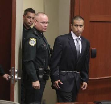 George Zimmerman, el vigilante entonces acusado de homicidio en segundo grado por la muerte del joven negro Trayvon Martin, en 2012.