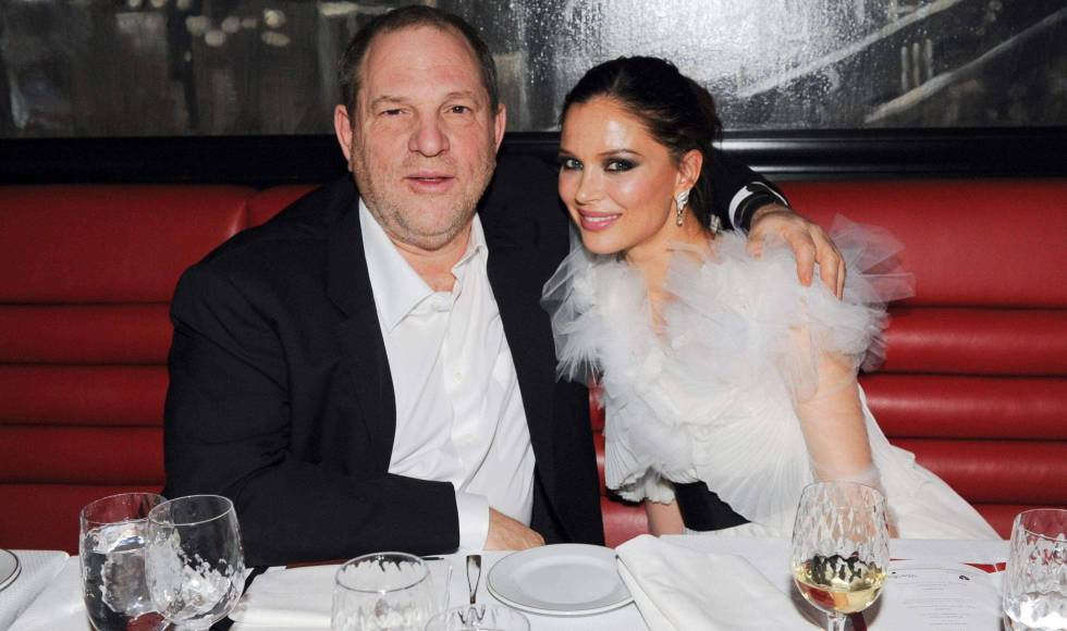 Harvey Weinstein y Georgina Chapman, en 2011.