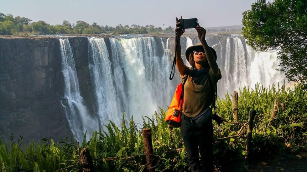 Cataratas Victoria, vistas desde el lado de Zimbabue