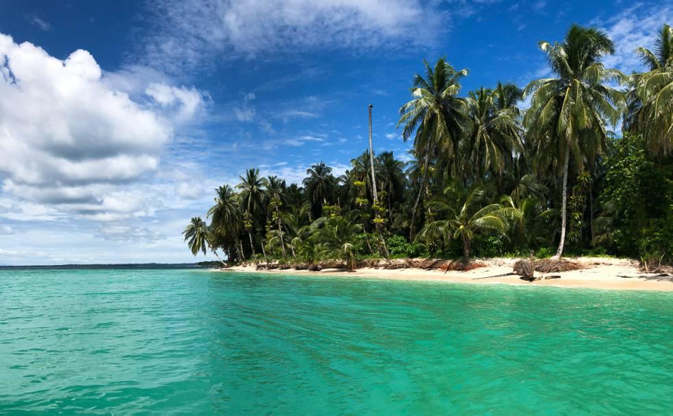 Cayo Zapatilla, en el archipiélago de Bocas del Toro