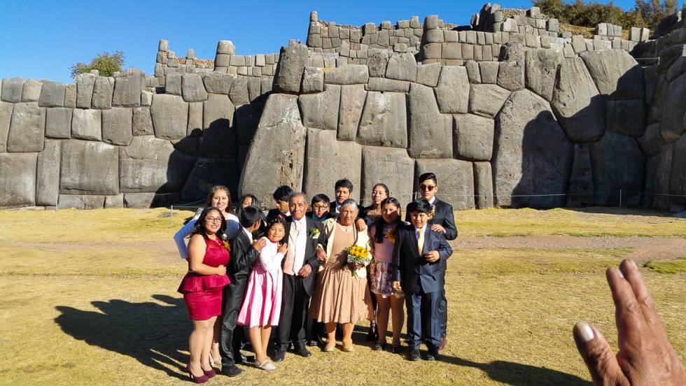 Ruinas incas de Sacsayhuamán, en Cuzco