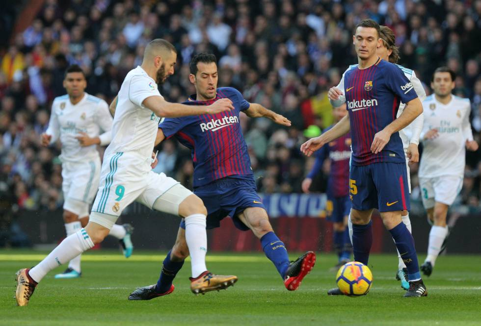 Barcelona - Real Madrid  horario y dónde ver el clásico de la Liga ... e9f2629c9c752