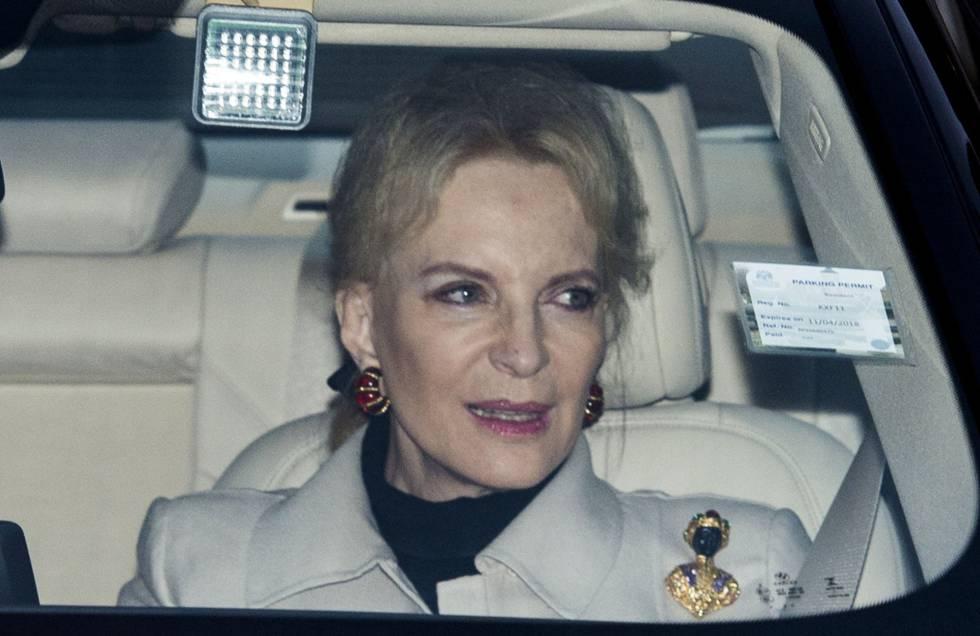 La pricesa de Kent, a su llegada el pasado 20 de diciembre al palacio de Buckingham.