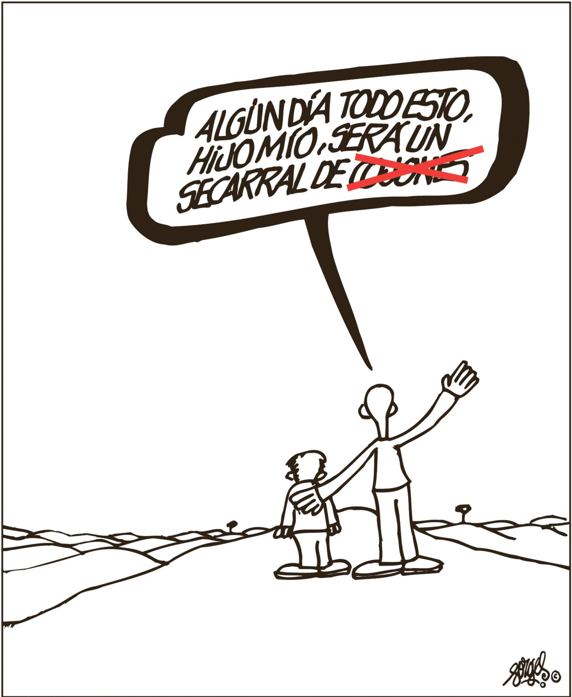 Forges, en El País, 30/12/2017