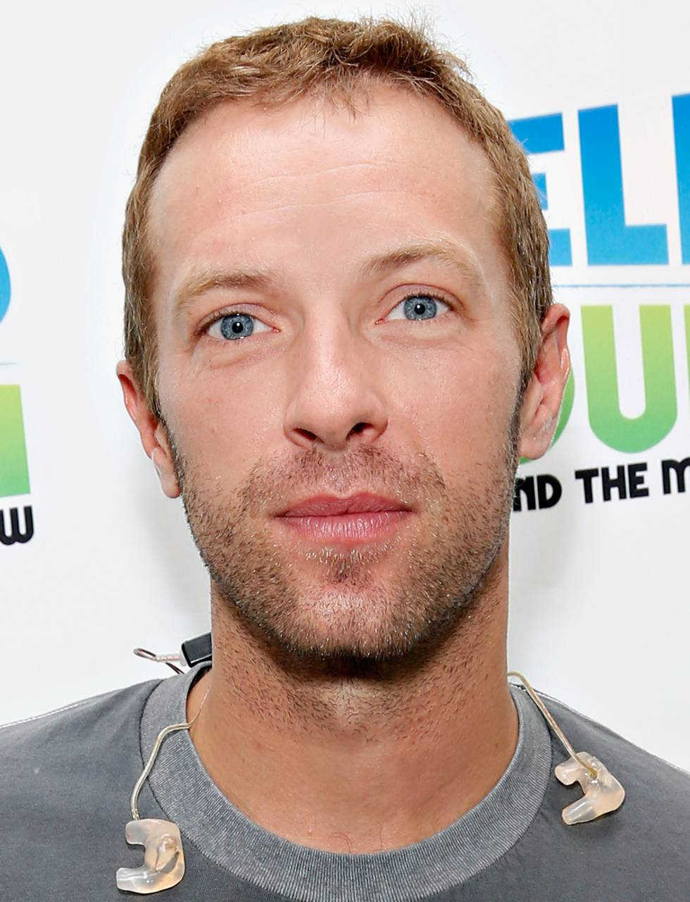 Chris Martin, cantante de Coldplay.