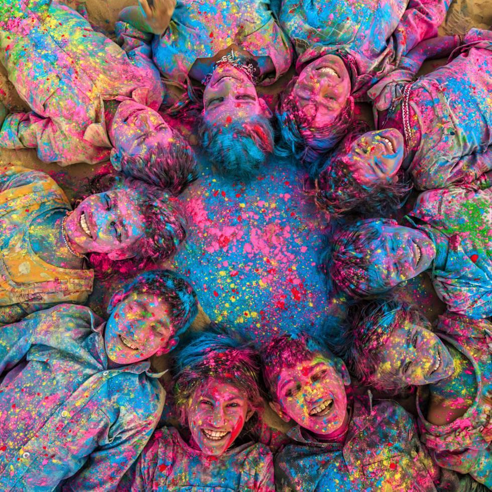Festival Holi en Jaisalmer