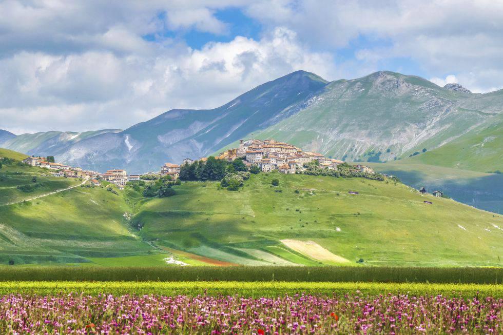 Castelluccio di Norcia (Umbría)