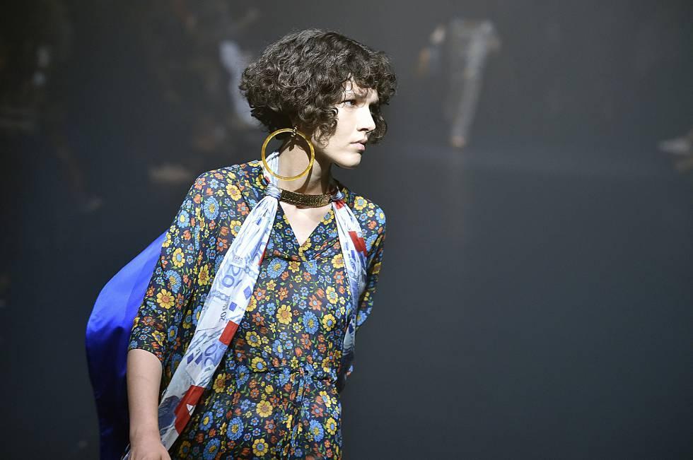 Escena en la Semana de la Moda de Moscú.