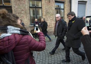 Carles Puigdemont's life in his Belgian refuge
