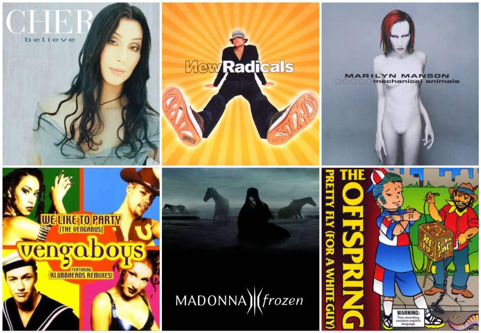 68f928a0deb Hits de 1998  20 canciones de hace 20 años que conoces seguro ...