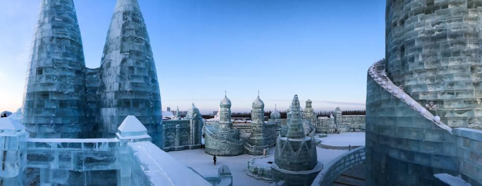 Harbin, el festival de esculturas de hielo más disparatado del mundo
