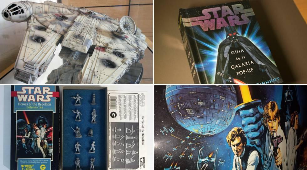 3c16e860e Coleccionistas de 'Star Wars': una selección de ocho joyas para comprar  'online